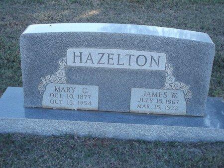 HAZELTON, JAMES W - Alfalfa County, Oklahoma | JAMES W HAZELTON - Oklahoma Gravestone Photos