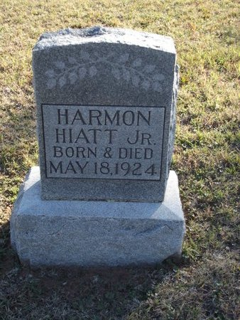 HIATT, HARMON JR - Alfalfa County, Oklahoma | HARMON JR HIATT - Oklahoma Gravestone Photos