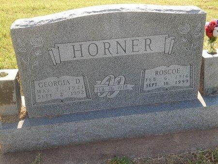HORNER, ROSCOE - Alfalfa County, Oklahoma | ROSCOE HORNER - Oklahoma Gravestone Photos