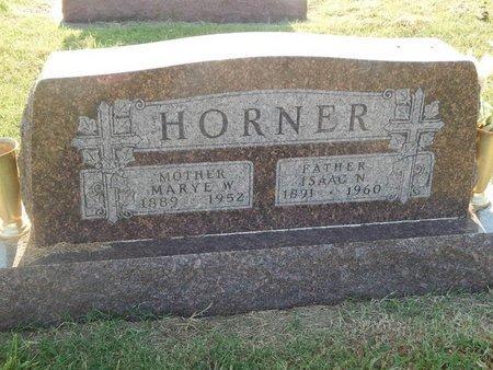 HORNER, MARYE W - Alfalfa County, Oklahoma   MARYE W HORNER - Oklahoma Gravestone Photos