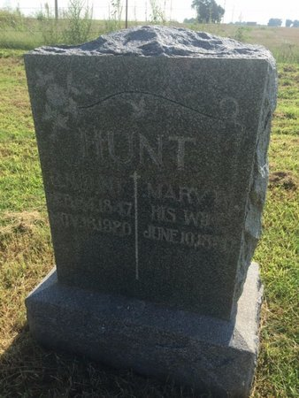 CHAPMAN HUNT, MARY W - Alfalfa County, Oklahoma | MARY W CHAPMAN HUNT - Oklahoma Gravestone Photos