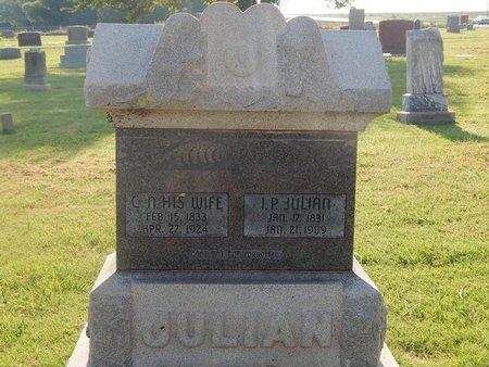 JULIAN, CLEMENTINE N - Alfalfa County, Oklahoma | CLEMENTINE N JULIAN - Oklahoma Gravestone Photos