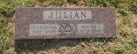 JULIAN, ROBERT F - Alfalfa County, Oklahoma   ROBERT F JULIAN - Oklahoma Gravestone Photos