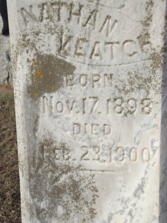 KEATCH, NATHAN - Alfalfa County, Oklahoma | NATHAN KEATCH - Oklahoma Gravestone Photos