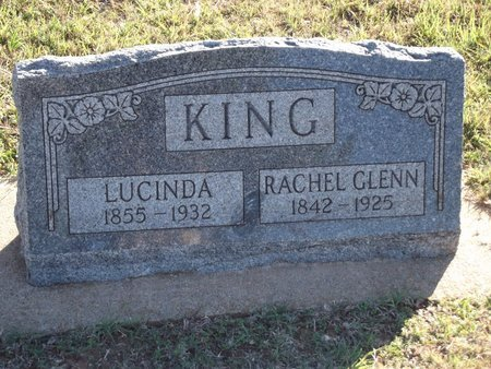 KING, LUCINDA - Alfalfa County, Oklahoma   LUCINDA KING - Oklahoma Gravestone Photos