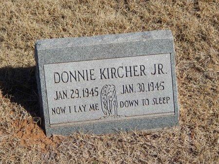 KIRCHER, DONNIE JR - Alfalfa County, Oklahoma   DONNIE JR KIRCHER - Oklahoma Gravestone Photos