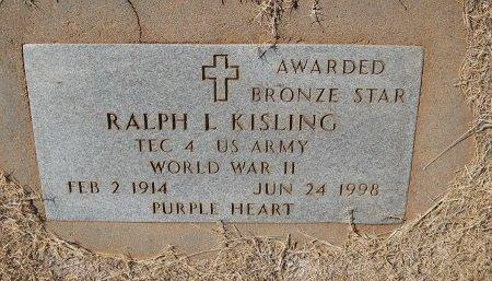 KISLING (VETERAN WWII), RALPH L - Alfalfa County, Oklahoma | RALPH L KISLING (VETERAN WWII) - Oklahoma Gravestone Photos