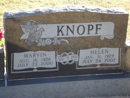 KNOPF, HELEN - Alfalfa County, Oklahoma | HELEN KNOPF - Oklahoma Gravestone Photos