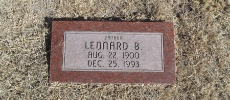 LAMBERT, LEONARD B - Alfalfa County, Oklahoma | LEONARD B LAMBERT - Oklahoma Gravestone Photos