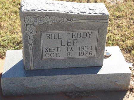 LEE, BILL TEDDY - Alfalfa County, Oklahoma | BILL TEDDY LEE - Oklahoma Gravestone Photos