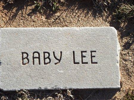 LEE, BABY 2 - Alfalfa County, Oklahoma | BABY 2 LEE - Oklahoma Gravestone Photos