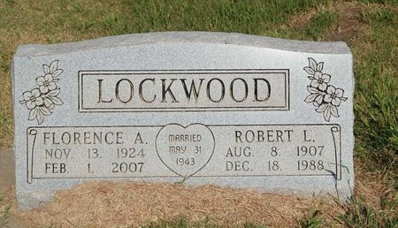 LOCKWOOD, ROBERT L - Alfalfa County, Oklahoma | ROBERT L LOCKWOOD - Oklahoma Gravestone Photos