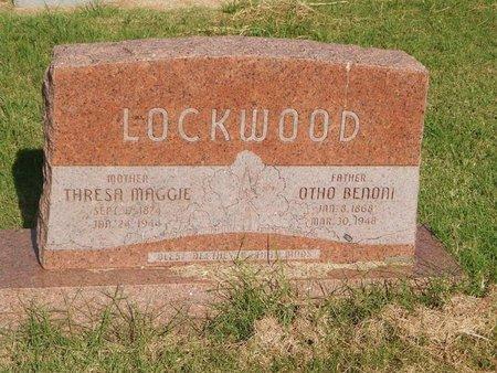 LOCKWOOD, THRESA MAGGIE - Alfalfa County, Oklahoma | THRESA MAGGIE LOCKWOOD - Oklahoma Gravestone Photos