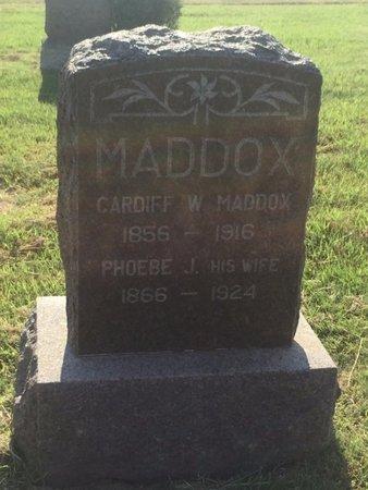 MADDOX, PHOEBE J - Alfalfa County, Oklahoma | PHOEBE J MADDOX - Oklahoma Gravestone Photos