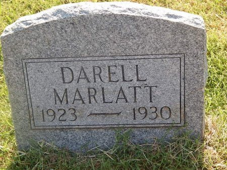 MARLATT, DARELL - Alfalfa County, Oklahoma   DARELL MARLATT - Oklahoma Gravestone Photos