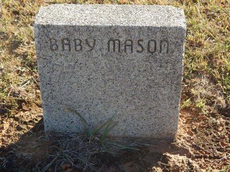 MASON, BABY - Alfalfa County, Oklahoma | BABY MASON - Oklahoma Gravestone Photos