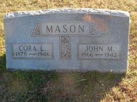 MASON, CORA L - Alfalfa County, Oklahoma | CORA L MASON - Oklahoma Gravestone Photos