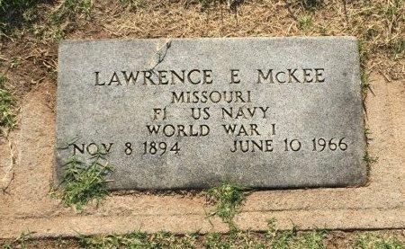 MCKEE (VETERAN WWI), LAWRENCE E - Alfalfa County, Oklahoma | LAWRENCE E MCKEE (VETERAN WWI) - Oklahoma Gravestone Photos