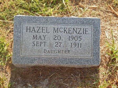 MCKENZIE, HAZEL - Alfalfa County, Oklahoma | HAZEL MCKENZIE - Oklahoma Gravestone Photos