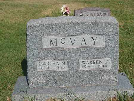 MCVAY, WARREN J - Alfalfa County, Oklahoma   WARREN J MCVAY - Oklahoma Gravestone Photos