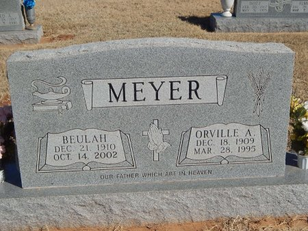 MEYER, BEULAH - Alfalfa County, Oklahoma | BEULAH MEYER - Oklahoma Gravestone Photos