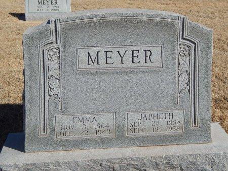 MEYER, JAPHETH - Alfalfa County, Oklahoma   JAPHETH MEYER - Oklahoma Gravestone Photos