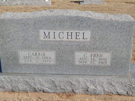 SCHUPBACH MICHEL, CARRIE - Alfalfa County, Oklahoma | CARRIE SCHUPBACH MICHEL - Oklahoma Gravestone Photos