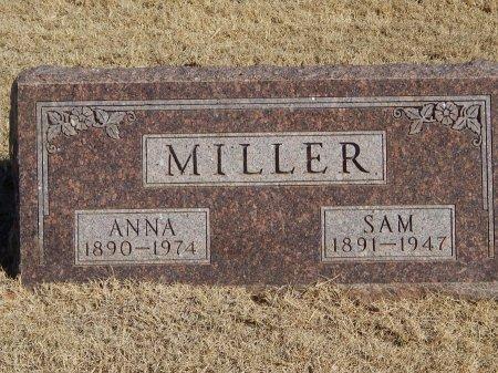 MILLER, ANNA - Alfalfa County, Oklahoma | ANNA MILLER - Oklahoma Gravestone Photos