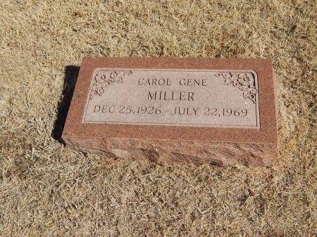 MILLER, CAROL GENE - Alfalfa County, Oklahoma   CAROL GENE MILLER - Oklahoma Gravestone Photos