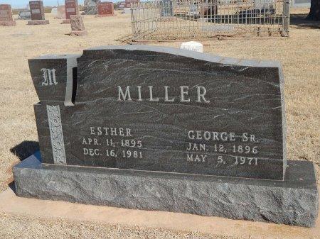 MILLER, GEORGE SR - Alfalfa County, Oklahoma | GEORGE SR MILLER - Oklahoma Gravestone Photos