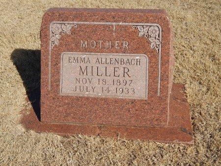 ALLENBACH MILLER, EMMA - Alfalfa County, Oklahoma | EMMA ALLENBACH MILLER - Oklahoma Gravestone Photos