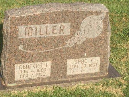MILLER, GENEVRA I - Alfalfa County, Oklahoma | GENEVRA I MILLER - Oklahoma Gravestone Photos
