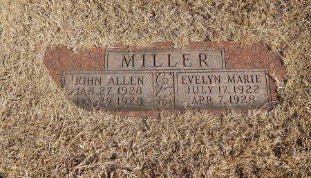 MILLER, JOHN ALLEN - Alfalfa County, Oklahoma | JOHN ALLEN MILLER - Oklahoma Gravestone Photos