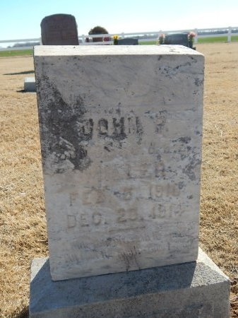 MILLER, JOHN P - Alfalfa County, Oklahoma | JOHN P MILLER - Oklahoma Gravestone Photos