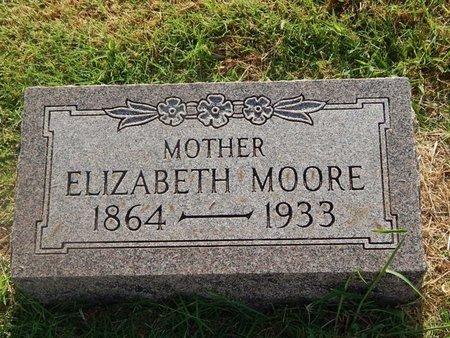 MOORE, ELIZABETH - Alfalfa County, Oklahoma   ELIZABETH MOORE - Oklahoma Gravestone Photos