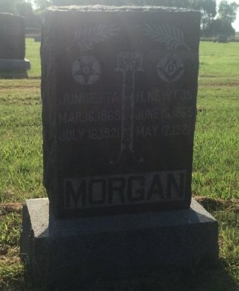 MORGAN, H NEWTON - Alfalfa County, Oklahoma | H NEWTON MORGAN - Oklahoma Gravestone Photos