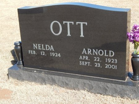 OTT, ARNOLD - Alfalfa County, Oklahoma | ARNOLD OTT - Oklahoma Gravestone Photos