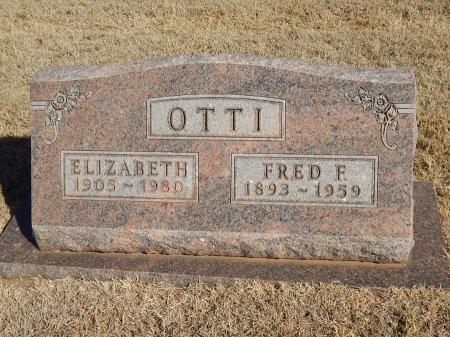 OTTI, ELIZABETH - Alfalfa County, Oklahoma | ELIZABETH OTTI - Oklahoma Gravestone Photos
