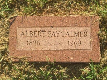 PALMER, ALBERT FAY - Alfalfa County, Oklahoma | ALBERT FAY PALMER - Oklahoma Gravestone Photos