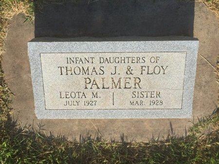 PALMER, SISTER - Alfalfa County, Oklahoma | SISTER PALMER - Oklahoma Gravestone Photos