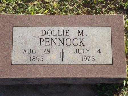 PENNOCK, DOLLIE M - Alfalfa County, Oklahoma | DOLLIE M PENNOCK - Oklahoma Gravestone Photos