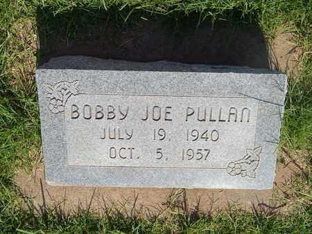 PULLAN, BOBBY JOE - Alfalfa County, Oklahoma | BOBBY JOE PULLAN - Oklahoma Gravestone Photos