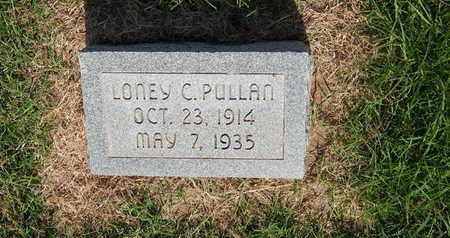 PULLAN, LONEY C - Alfalfa County, Oklahoma   LONEY C PULLAN - Oklahoma Gravestone Photos