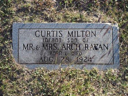 RAGAN, CURTIS MILTON - Alfalfa County, Oklahoma | CURTIS MILTON RAGAN - Oklahoma Gravestone Photos