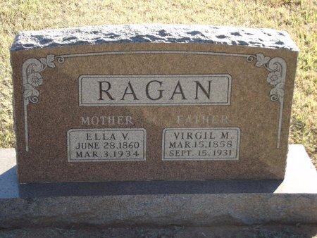 RAGAN, VIRGIL M - Alfalfa County, Oklahoma | VIRGIL M RAGAN - Oklahoma Gravestone Photos