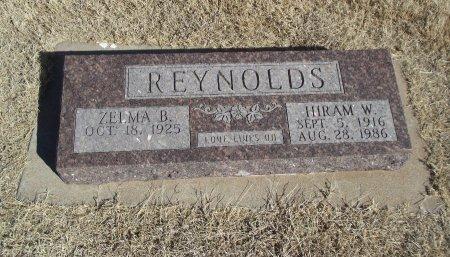 REYNOLDS, HIRAM W - Alfalfa County, Oklahoma | HIRAM W REYNOLDS - Oklahoma Gravestone Photos