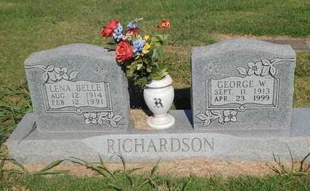 RICHARDSON, LENA BELLE - Alfalfa County, Oklahoma | LENA BELLE RICHARDSON - Oklahoma Gravestone Photos