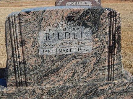 RIEDEL, JOHN - Alfalfa County, Oklahoma   JOHN RIEDEL - Oklahoma Gravestone Photos