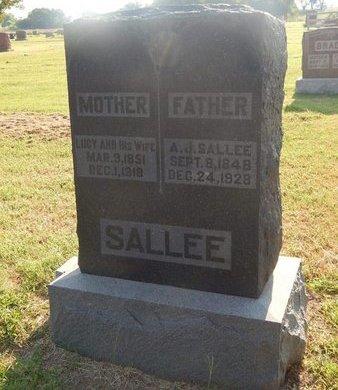SALLEE, LUCY ANN - Alfalfa County, Oklahoma | LUCY ANN SALLEE - Oklahoma Gravestone Photos