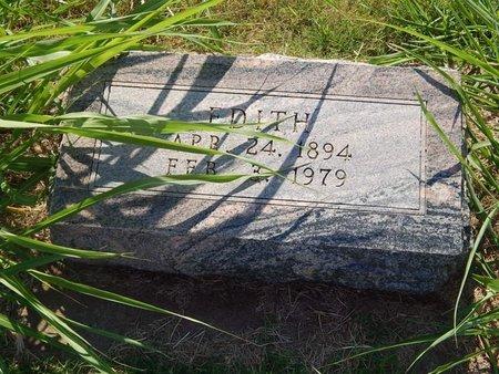 SCHIFFNER, EDITH - Alfalfa County, Oklahoma | EDITH SCHIFFNER - Oklahoma Gravestone Photos